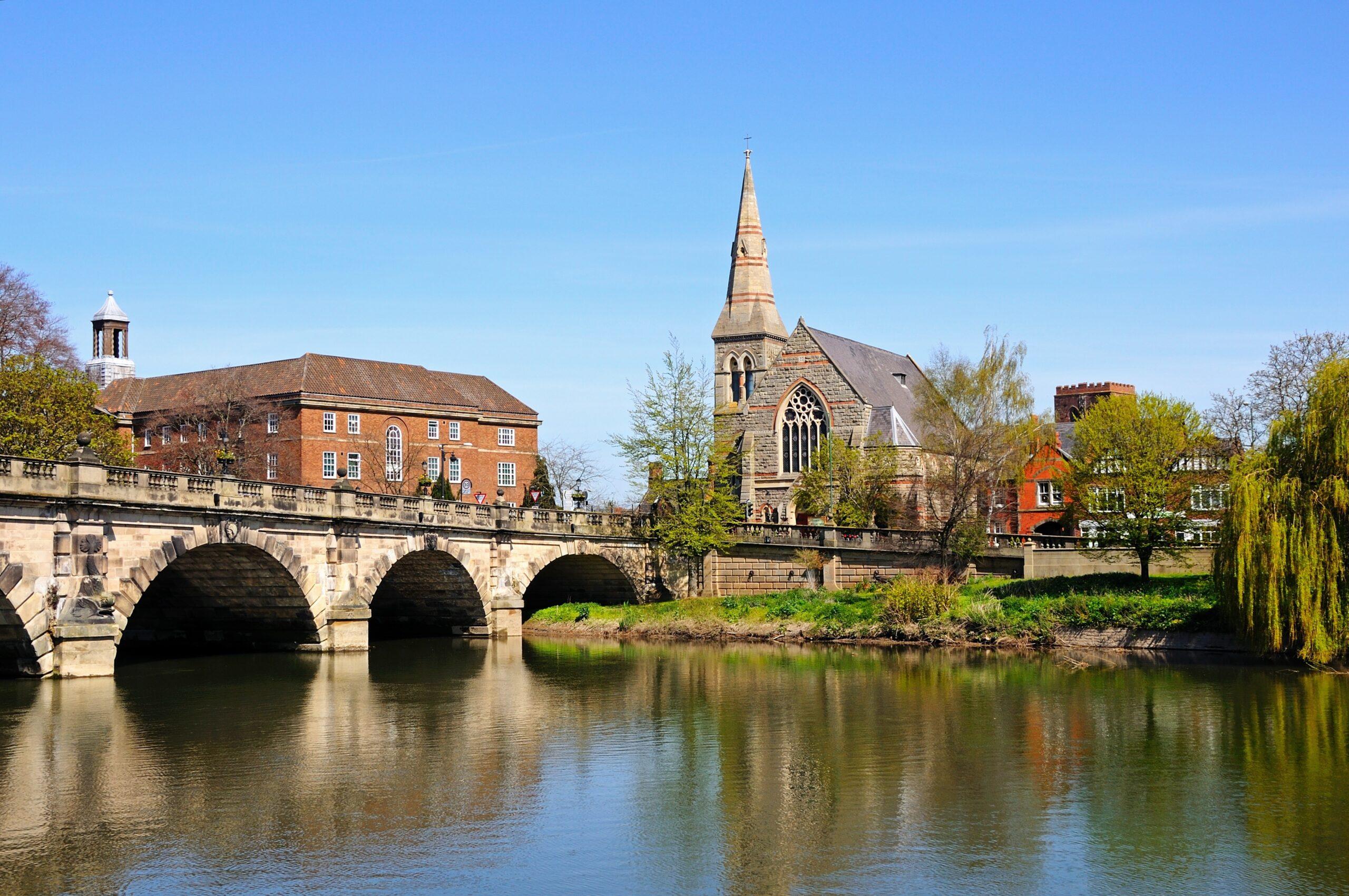 Shrewsbury English Bridge
