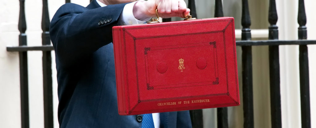 Chancellor of the Exchequer Budget 2018