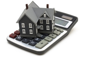 Model house on a mortgage Calculator